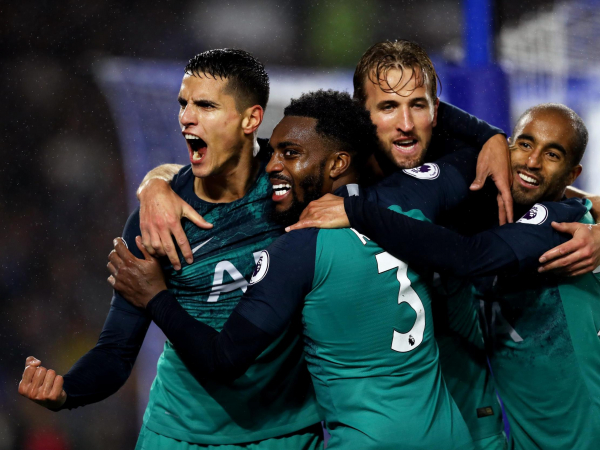 Tottenham stand replenished and ready to go after much-needed win at Brighton