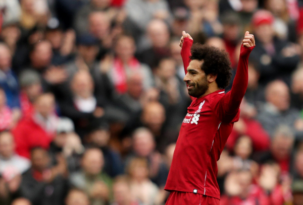 Liverpool 3 Southampton 0: Mohamed Salah strikes to send Reds top of the Premier League