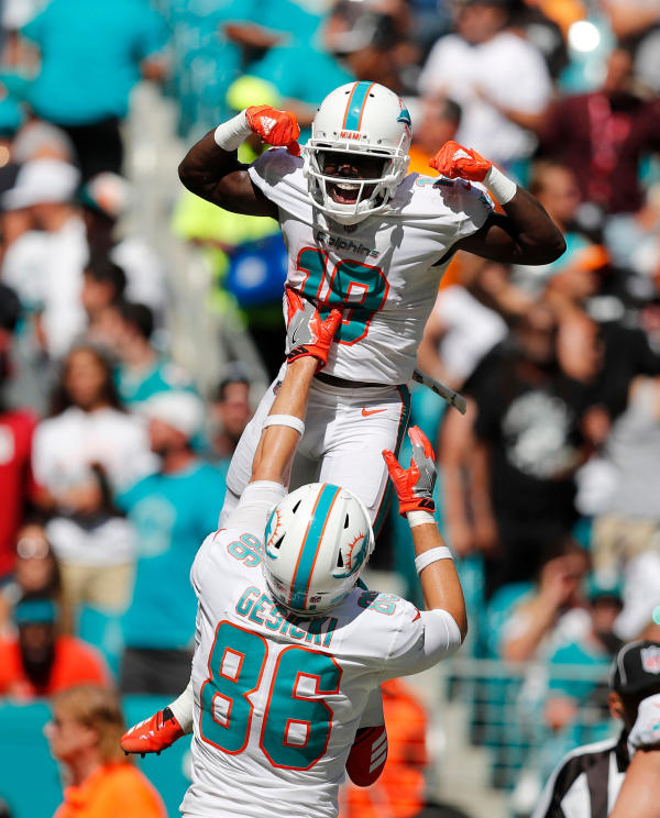 Full of surprises, Dolphins are undefeated with Pats next