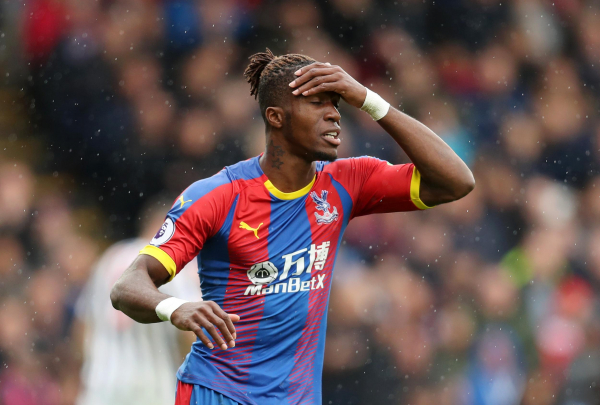Crystal Palace face new Wilfried Zaha injury fear after early return from international duty