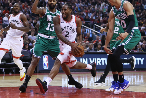 Kawhi Leonard Goes Beast Mode in Raptors Victory Over Celtics ?