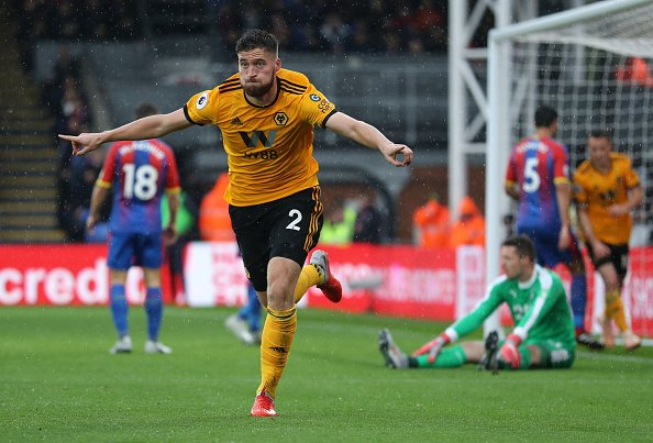 Matt Doherty continues Wolves fast Premier League start as Crystal Palace struggle on