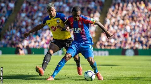Palace's Benteke back in 'training soon' after knee surgery