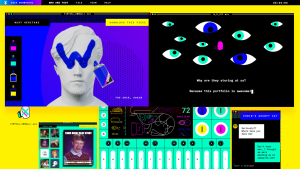 "Making of ""The Preposterous Official Website of Erik Bernacchi"""