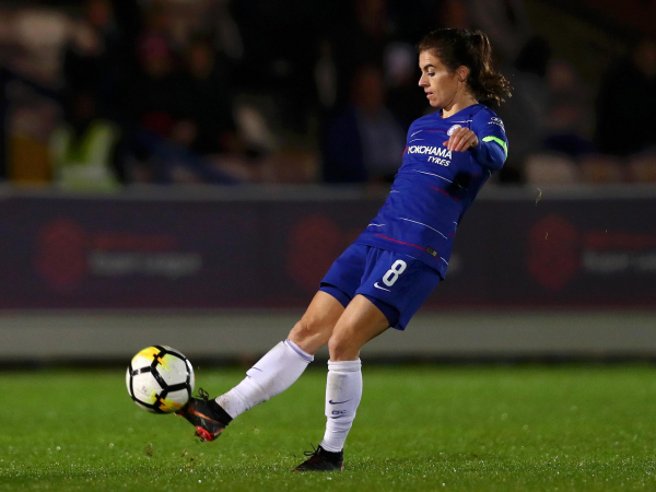 England international Karen Carney subject to abusive messages in wake of Chelseas European win