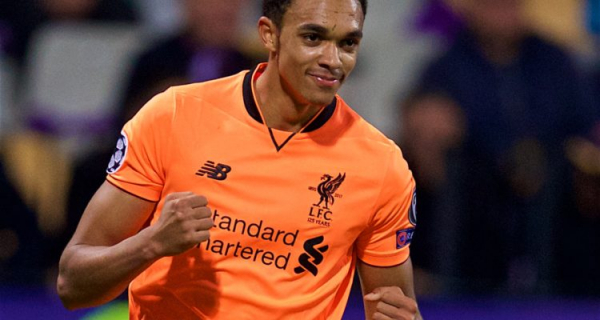 Alexander-Arnold happy to stay at right-back for the rest of his career
