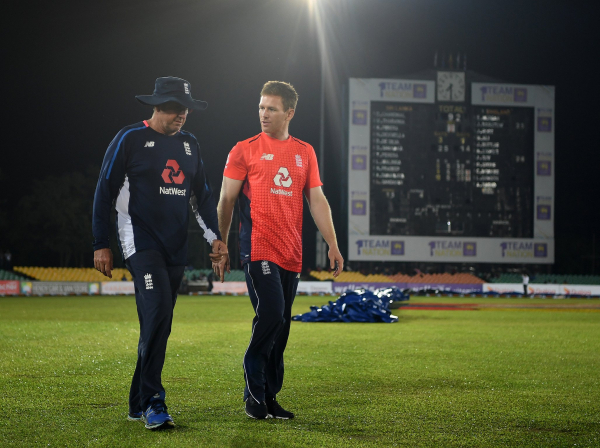 England captain Eoin Morgan left crossing fingers for kinder weather after first day washout vs Sri Lanka