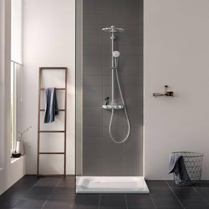 """Grohe's Euphoria SmartControl system aims to make showering """"intuitive"""""""
