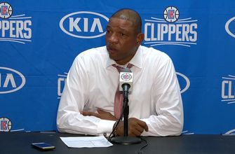 WATCH: Doc Rivers Reacts to Clippers First Win