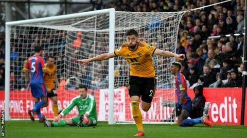 Doherty earns Wolves three points at Palace