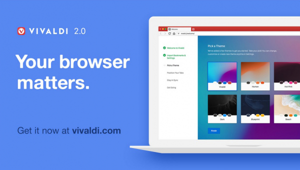 Meet Vivaldi 2.0: Faster, Safer and Personal