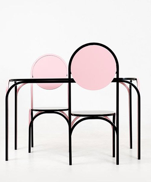 curved lines of SML's 'flowing' furniture resemble hand-drawn doodles