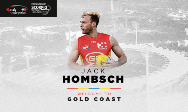 Jack Hombsch joins the GC SUNS