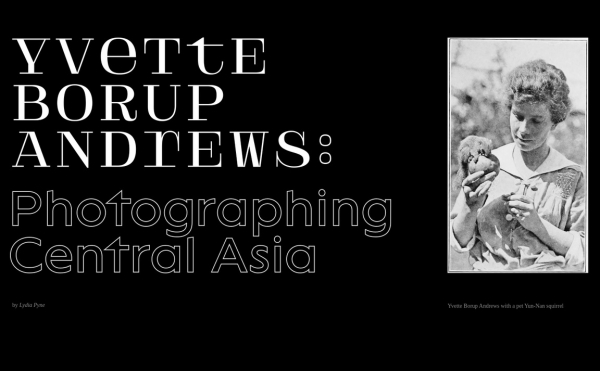 Yvette Borup Andrews — Photographing Central Asia