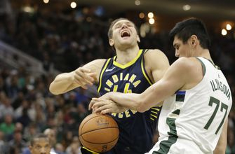 Antetokounmpo, Middleton help Bucks beat Pacers 118-101