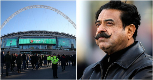 Fulham owner Khan withdraws offer to buy Wembley