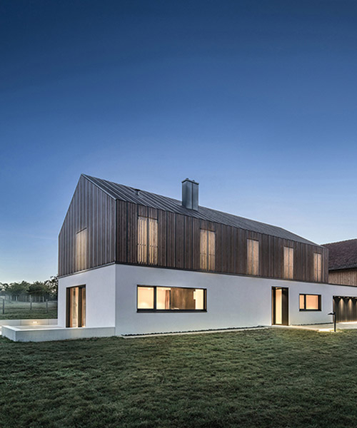 minimalistic house in southern germany by DIA merges natural and man-made