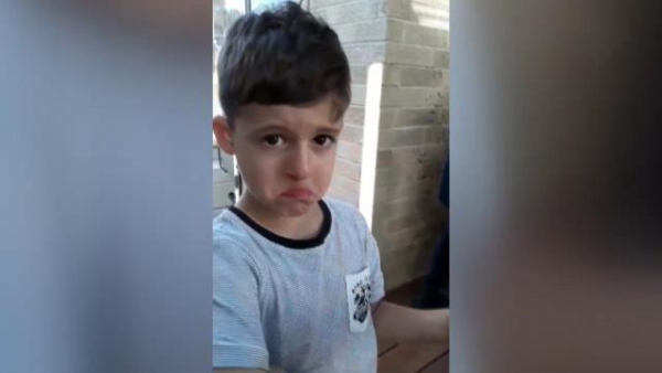 AFL trade 2018: Young Melbourne fan's heartbreaking reaction to being told Jesse Hogan was traded to Fremantle