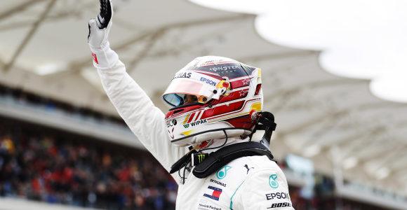 One step away: Hamilton denies Ferrari challenge to take US F1 GP pole