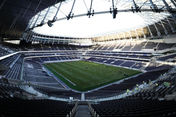 Tottenham hope to open new stadium to the public this weekend as final touches are made to club shop