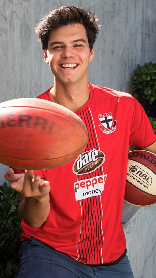 The next Mason Cox? Saints sign 211cm giant