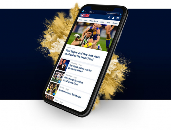 We're changing the AFL Homepage