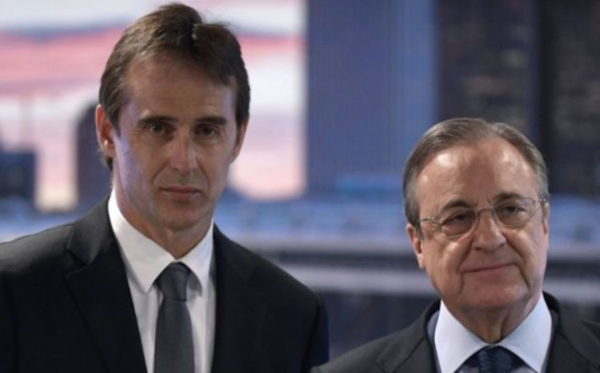 Julen Lopetegui hands list of three ambitious transfer targets to Real Madrid president Florentino Perez, including Tottenham star