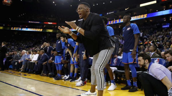 Russell Westbrook out vs. Clippers Friday night, second game he's missed