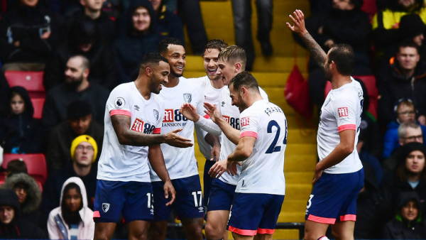 Bournemouth crush Watford in record win
