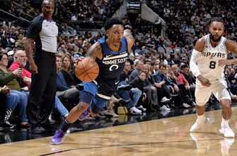 Wolves come up short in opener, fall 112-108 to Spurs