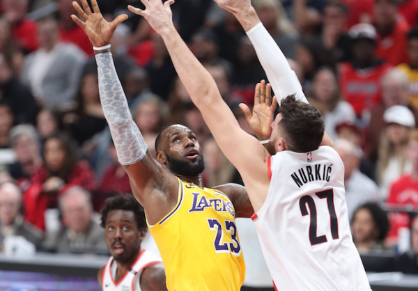 LeBron James Felt Lakers Had 'Good' And 'Bad' Moments In Loss To Trail Blazers