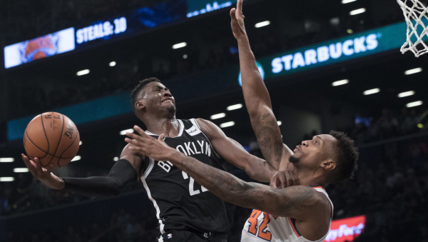 Watch Caris LeVert's game-winning layup lifting Nets over Knicks 107-105