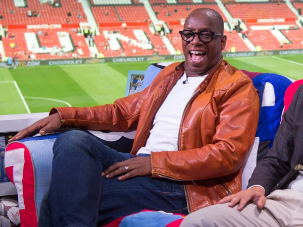 Ian Wright reacts to Lucas Torreira's display in Arsenal's 5-1 win at Fulham