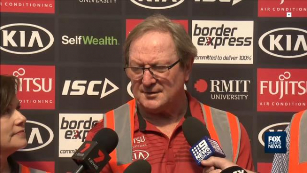 AFL 2019: Kevin Sheedy is 'worried' for Carlton more than Gold Coast, after poor season