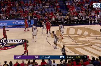 HIGHLIGHTS: Nikola Mirotic with a HEAT CHECK beyond the arc | Sacramento Kings at New Orleans Pelicans
