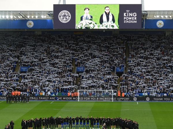 'Leicester till I die' they sang, and Khun Vichai was