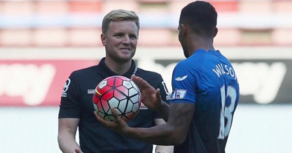 Bournemouth boss Howe 'delighted' for striker Wilson