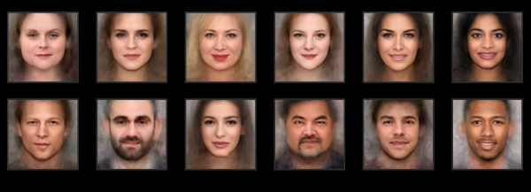 artificial intelligence generates your portrait based on millions of actors' photos