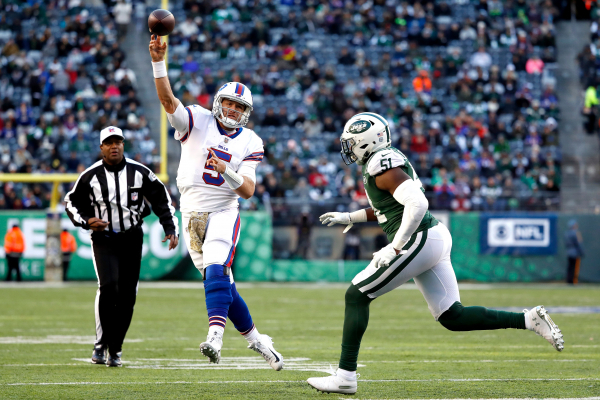 A Bills QB controversy? Lets not carried away but Barkleys play a breath of fresh air