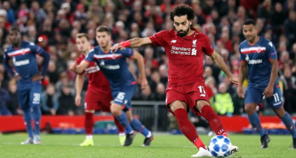 Samuel Eto'o told Mo Salah he would 'become a great player'