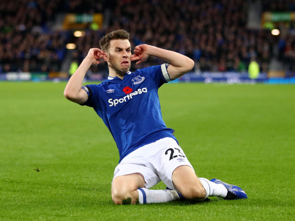Everton vs Brighton: Seamus Coleman delighted to silence his critics as he defends goal celebration