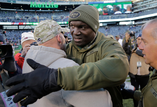 Bowles sinking Jets bottom out with 41-10 loss to Bills