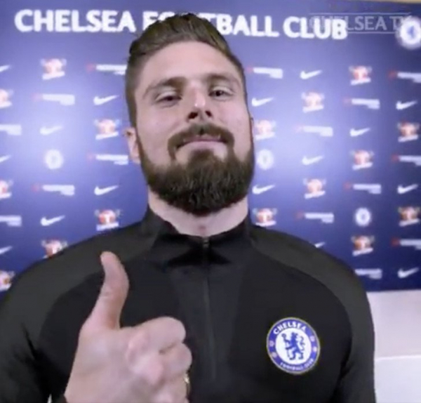 Olivier Giroud makes decision about Chelsea FC future