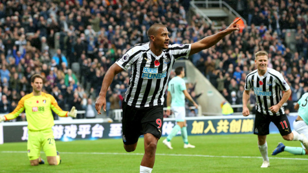 Rondon double sees off Bournemouth