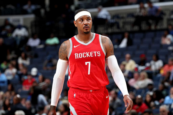 Report: Houston Planning to Waive Carmelo Anthony