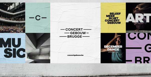 Concertgebouw Brugge Branding