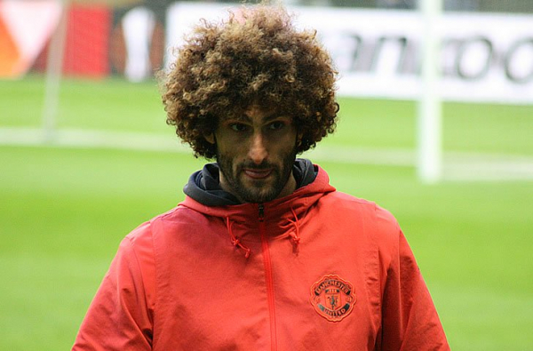 Maroaune Fellaini sends defiant message to Man City about Man United