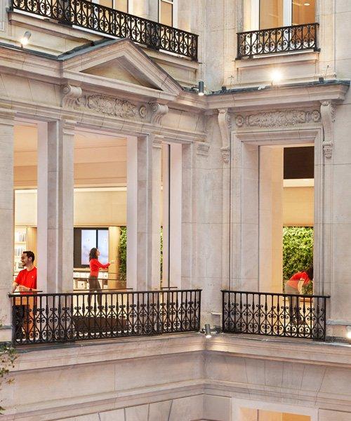 apple opens store inside historic building on paris' champs-élysées