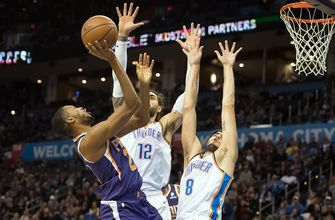 'Passive' Suns can't slow George as Thunder roll
