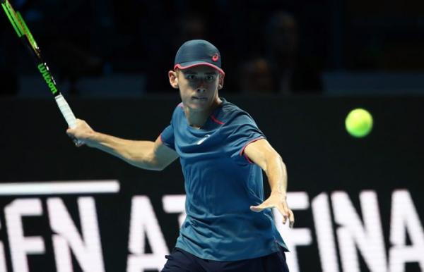 De Minaur wins again at Next Gen ATP Finals